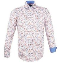 New Mens Guide London Circle Print Long Sleeve Shirt Size S £24.99 or best offer
