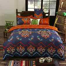 Bohemia Duvet Cover Set Bedding King Size Wrinkle Resistant Reversible Boho Chic