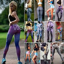 Damen Fitnesshose Yogahose Sport Leggings Fitness Yoga Gym Running Jogging Hosen