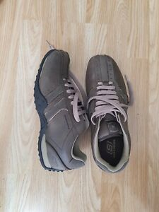 Mens Sketchers Trainers Size Uk10 Lace Up Relaxed Fit Memory Foam