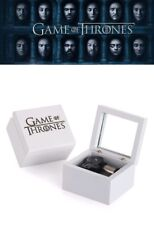 Artisanal White Wood Music Box ♫ Game Of Thrones - Winter Is Coming ♫