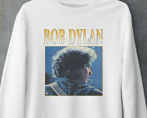 Bob Dylan Classic Rock Music Vintage Funny Gildan White Sweatshirt MNH041621053