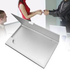 Porta Porta biglietti da visita Porta carte di credito in metallo in alluminio