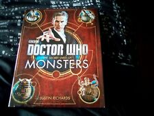 BBC Doctor Who The Secret Lives of Monsters by Justin Richards-hardback as