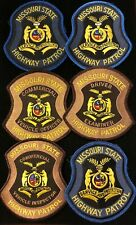 Missouri MO State Police Highway Patrol Patch SPECIAL UNITS - SET OF 6 - Grp2
