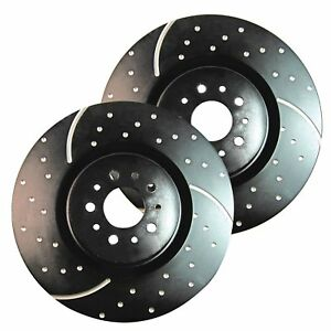EBC GD Sport Rotors / Turbo Grooved Upgraded Front Brake Discs (Pair) - GD858