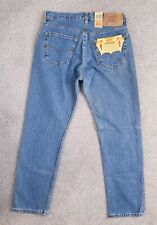 Vintage Levis UK 501 High Rise Straight Leg 90s Mom Jeans NEW Size 12 W30 L30