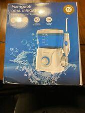 New HOMGEEK Oral Irrigator Condition New Box Open