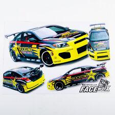 074018  1/10 R/C Racing DRIFT Car Body RockStar DIRST Adhesive Decals Sticker