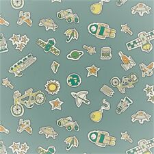 Fat Quarter Liberty Adventures in the Sky Treasures Cotton Quilting Sew Fabric