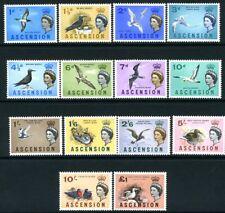 ASCENSION-1963 Birds Set to £1 Sg 70-83 UNMOUNTED MINT V18984