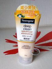 Neutrogena Deep Clean Blackhead Eliminating Daily Scrub 100g facial skin care KI