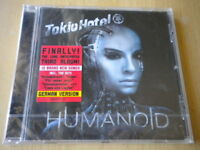 Tokio Hotel	Humanoid	CD	NUOVO rock	Komm Alien Automatisch Hunde german version