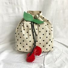 LUV BETSEY JOHNSON Strawberry Backpack School Bag Purse NWT