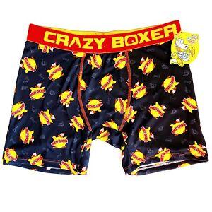 NWT New Crazy Boxer Briefs Nickelodeon Rocko's Modern Life Chokey Chicken Large