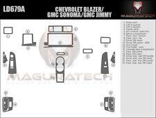 Dash Trim Kit for CHEVROLET BLAZER 95 96 carbon fiber wood aluminum