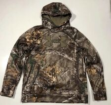 UNDER ARMOUR MEN'S 3XL COLDGEAR CAMO HUNT BIG LOGO HOODIE NWT