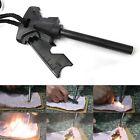 Outdoor Camping Survival Magnesium Flint Scraper Stone Fire Starter Lighter Kit