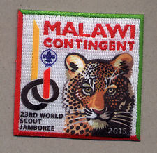 23rd world scout jamboree MALAWI Contingent bBadge 2015
