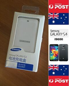 Samsung S5 White Charger Dock Original Retail  for S5 I9600  - Local Brisbane