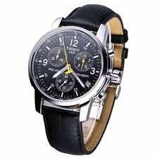 TISSOT PRC 200 T17.1.526.52 BLACK LEATHER CHRONOGRAPH MENS WATCH  RRP £310