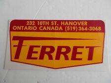 Ferret Racing Cars, Canada. Unused Sticker.