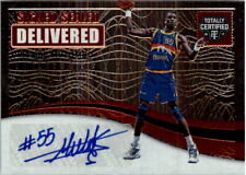 2016-17 Totally Certified Signed Sealed Delivered Autograph Card #5 D Mutombo/99