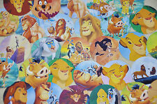 "Set of 60 1"" Precut LION KING Bottle Caps Images.For Birthday Parties!"