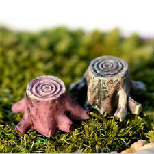 1Pc Miniature Mini Tree Christmas Diy Resin Fairy Home Garden Craft Decoration