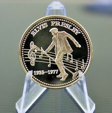 ELVIS PRESLEY GOLD PLATED COIN