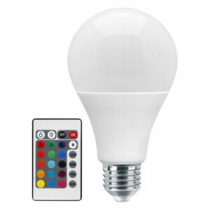 2x 4x B22 E27 RGB 16 Colour Changing LED Bulb Light Lamp 7W +Remote