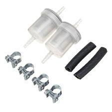 Negro + Kit de filtro de combustible de Plata Conjunto De Motor De Admisión Manguera de reemplazo útil