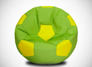 Bean Bag Soccer Ball Cover Indoor/Outdoor Game Seat Couch Without Fillings