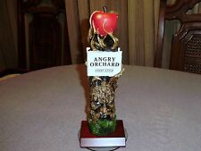 """ANGRY ORCHARD HARD CIDER FIGURAL TAP HANDLE WIZZARD OF OZ ANGRY APPLE TREE 11"""""""