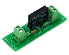 One Channel SSR (Solid State Relay) Module Board, AC100~240V/2A.