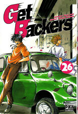 GET BACKERS    MANGA  N° 26   PIKA  EDITION