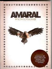 CDx2+LIBRO - Amaral - Hacia Lo Salvaje (POP) BOX DELUXE PRECINTADO * SEALED)