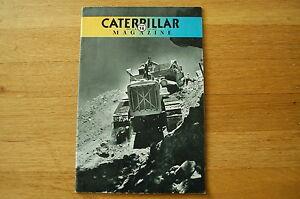 Caterpillar Magazine Issue 78 Dozer Crawler Tractor Vintage Antique rare number
