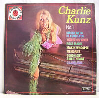 33T CHARLIE KUNZ N°1 Piano Disque LP SMOKE GETS YOUR EYES -DECCA 210016 M Pin Up