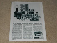 Harman Kardon Citation III Tube Tuner Ad, 1962, Article, Info, Frame it!