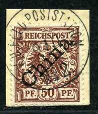 DP China Mi 6 I  Briefstück von Feldtelegramm  Feldpoststation No 2 aus Peking
