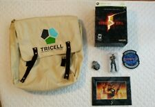 Resident evil 5 collector's edition xbox 360 games extras plus Laser Cell