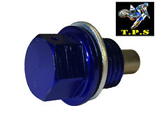 M14 x 1,5 Blu Petrolio DRAIN PLUG BULLONE: YAMAHA R1 R6 YZF 600 1000 FZ1 FZ6 FZR 600