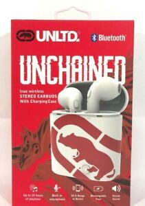 NEW UNLTD Unchained Earbuds InEar Bluetooth Headphones