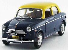 Fiat 1100Tv Taxi Mumbai India 1956 Blue Yellow Rio 1:43 RIO4496