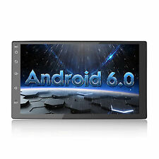 """Quad Core Android 6.0 4G WIFI 7"""" Double 2DIN Car Radio Stereo GPS Navigation"""