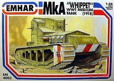 EMHAR 1/35 Mk1A Galgo Inglés Primera Guerra Mundial Medio Tanque # 4003
