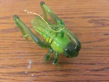 Blown Art Glass Grasshopper