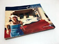 2001 Volkswagen Cabrio GL GLS GLX Brochure
