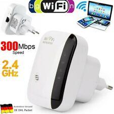 WLAN Repeater-300 Mbit/s WLAN Signal Verstärker Access Point Wifi EU Booster DE